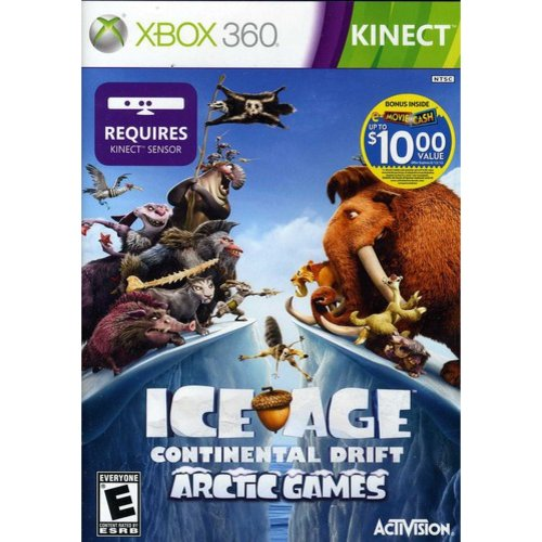 ICE AGE:CONTINENTAL DRIFT ARCTIC GAMES NLA X360 SIMULATION