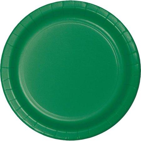Creative Converting Emerald Green Paper Plates, 24 ct