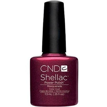 CND Creative Nail Design SHELLAC Gel Polish .25oz/7.3mL - Masquerade - image 1 of 1