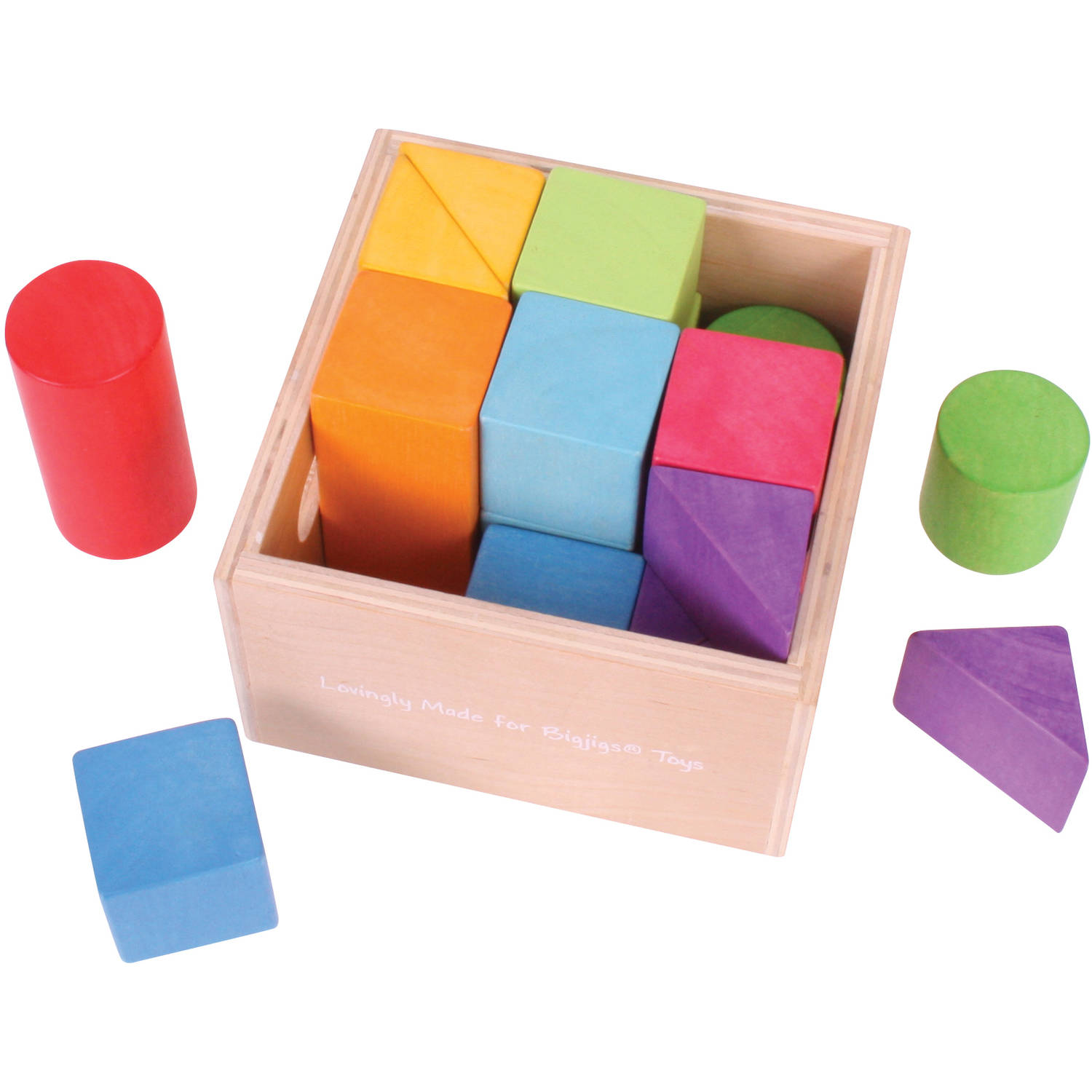 BigJigs Baby My First First Building Blocks