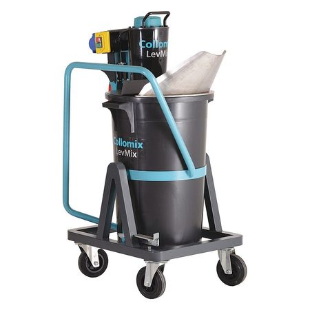 COLLOMIX LevMix65 Compound Mixer,110V,2-5/32 HP,2 cu. Ft. G0492305