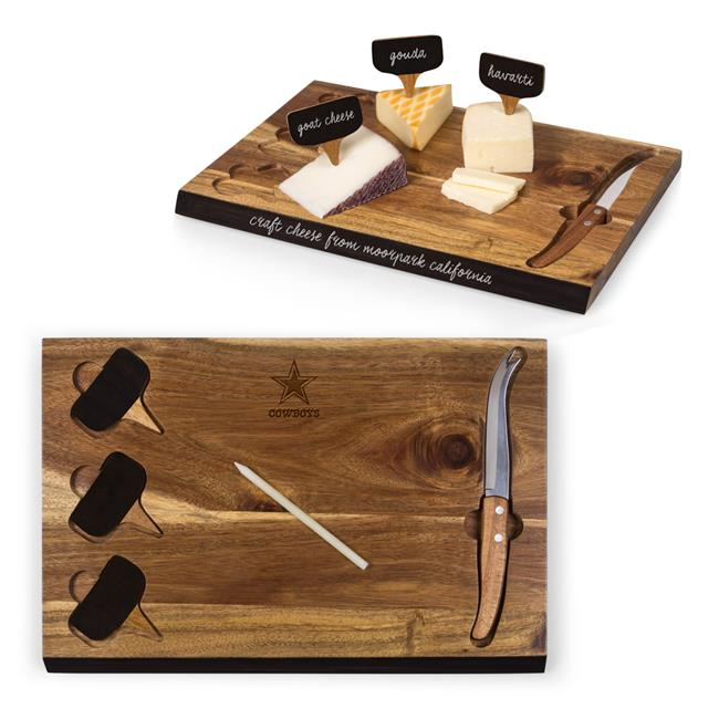 Dallas Cowboys - Delio Bamboo Cheese Board And Tools Set - image 1 of 1