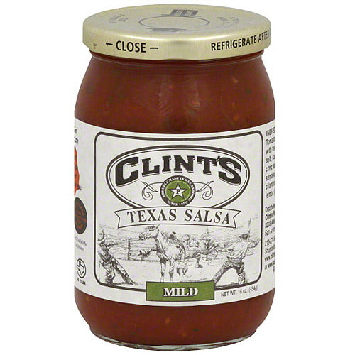 Clint's Texas Mild Salsa, 16 oz (Pack of 6) by Generic