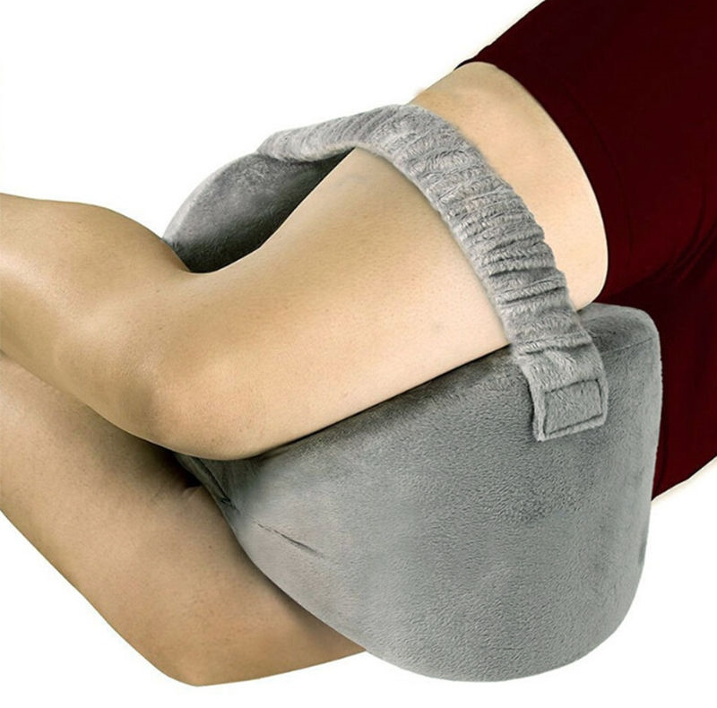 NEW,Sciatica Nerve Pain Relief Knee Pillow for Pains of Hip,Leg,Knee Memory Foam