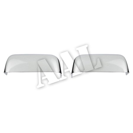 AAL Premium Chrome Mirror Cover For 2004 2005 2006 2007 2008 Ford F150 Xlt / Fx4 All Models (Except Heritage) Top Half Mirrors - 2004 F150 Xlt