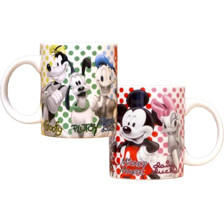Disney Mickey Mouse and Friends Groupies 11oz Mug