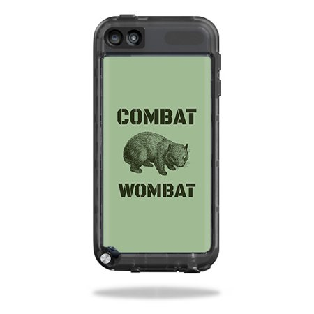 Combat Style Body (MightySkins Skin Compatible With LifeProof iPod Touch 5th Gen Case – Combat Wombat | Protective, Durable, and Unique Vinyl wrap cover | Easy To Apply, Remove, and Change Styles | Made in the USA )