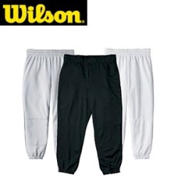 Wilson Youth Baseball Pull-Up Pants with Full Elastic Waistband by Wilson Sporting Goods