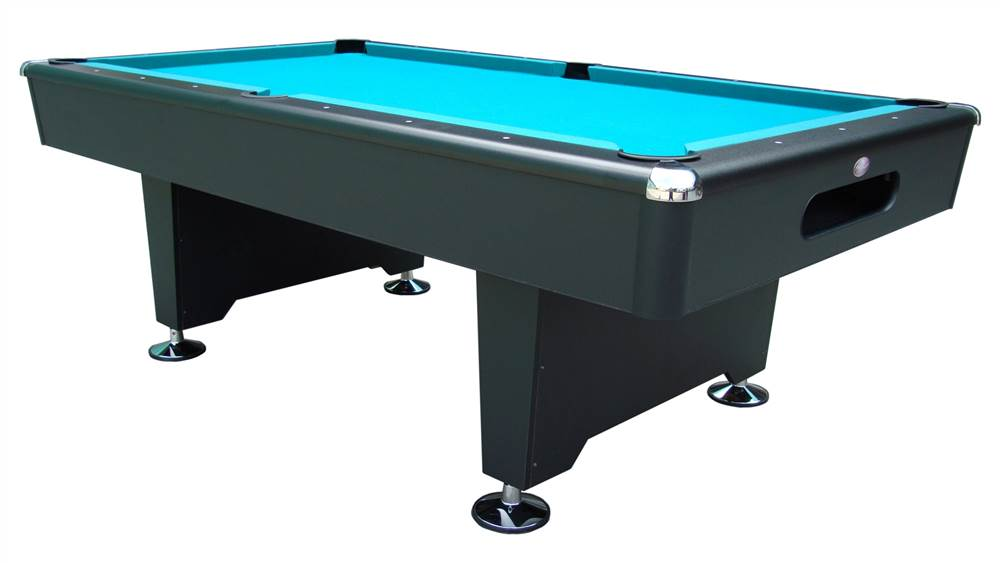 Black Knight 8 ft. Slate Pool Table (Drop Pockets) - Walmart.com