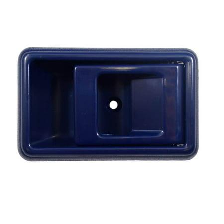 - PT Auto Warehouse TO-2501J-RH - Inner Interior Inside Door Handle, Blue - Passenger Side