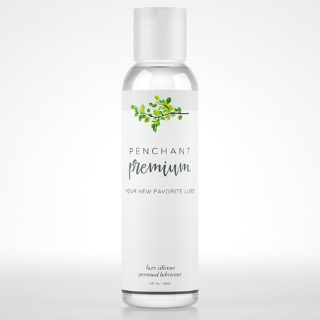 Intimate Personal Lubricant for Sensitive Skin by Penchant Premium - Silicone Based, Discreet Label - Best Personal Lube for Women and Men - Lubrication Gel Without Parabens or