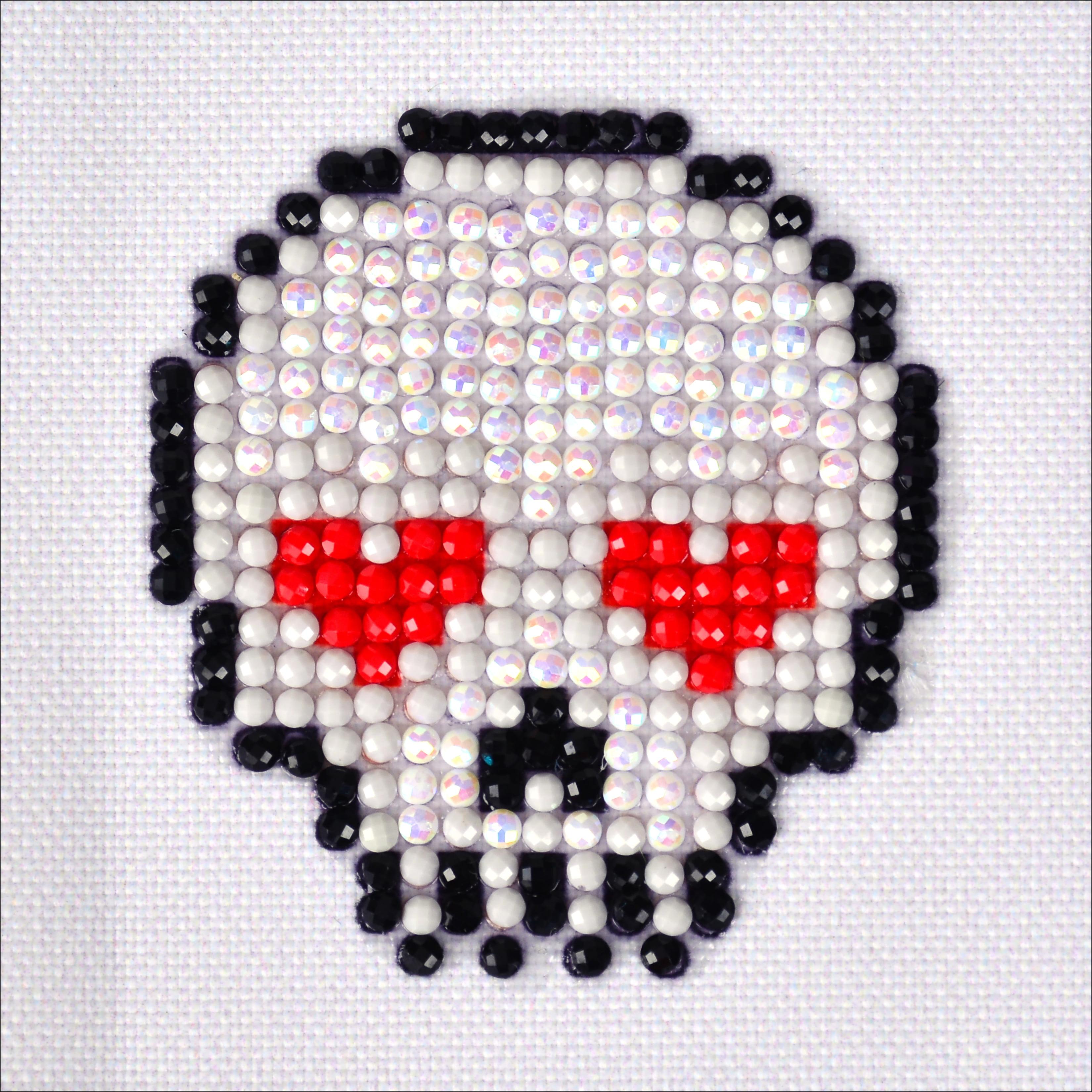 "Diamond Dotz Diamond Embroidery Facet Art Kit 4.75""X4.75""-Sugar Skull"