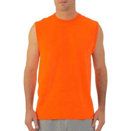 ea1e2cb061b20 Fruit of the Loom - Big Men s Muscle T-Shirt with Rib Trim - Walmart.com