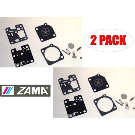 Zama Rb 128 Carb Repair Kit For Cub Cadet Cc3075 Trimmer  2 Pack