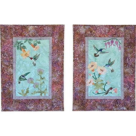 Pattern~Tessa's Garden Set of Two Patterns 16'' x 24'' by McKenna Ryan for Pine Needles Designs