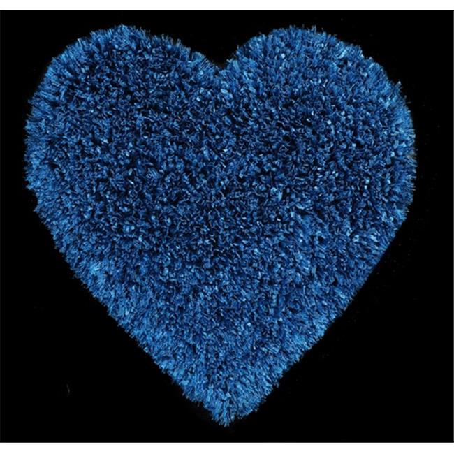 Dynamic Rugs FAHE331715550 Fantasia Heart 2. 6 x 2. 6 1715-550 - Denim
