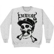 Emmure Men's  Street Skull Sweatshirt Grey