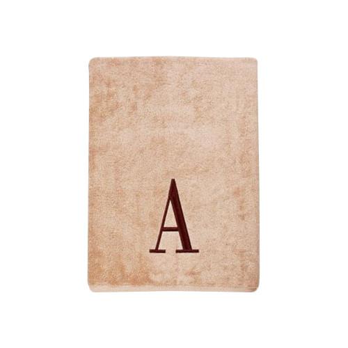 Avanti Linens Premier Monogram Block 6 Piece Towel Set