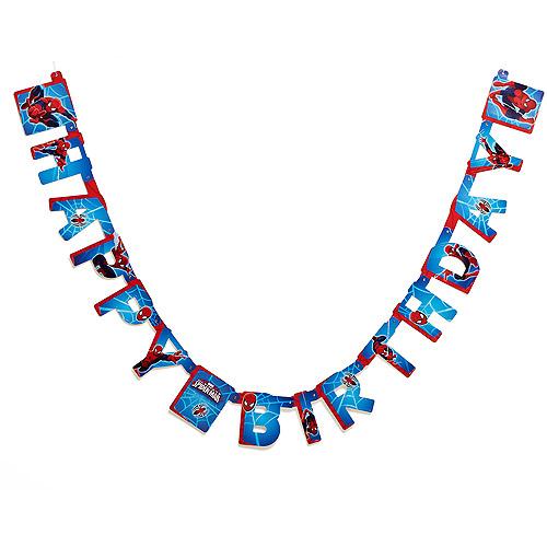 Spider-Man Birthday Party Banner, Party Supplies