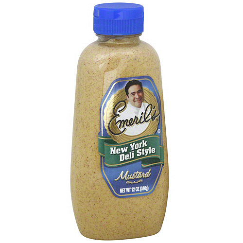 Emeril's New York Deli Style Mustard, 12 oz (Pack of 6) by Emeril's