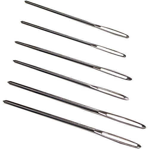"3 Pack Collapsible Eye Needles 5/"" 4//Pkg Medium"