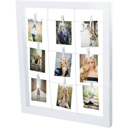 Metal Window Clip Frame - Halloween Frames Clip Art