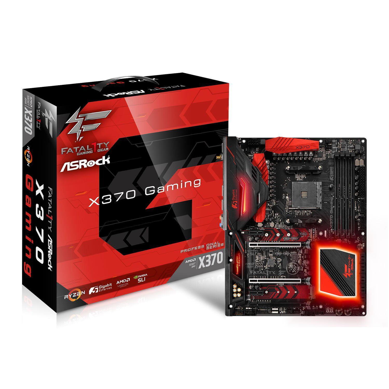 ASRock X370 PROFESSIONAL GAMING Socket AM4/AMD ATX Motherboard