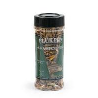 Fluker's Freeze-Dried Grasshoppers Reptile Turtle Snake Lizard Food, 1 Oz