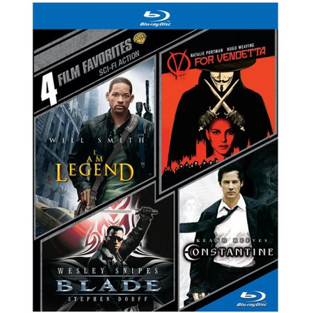 4 Film Favorites: Sci-Fi Action (Blu-ray)