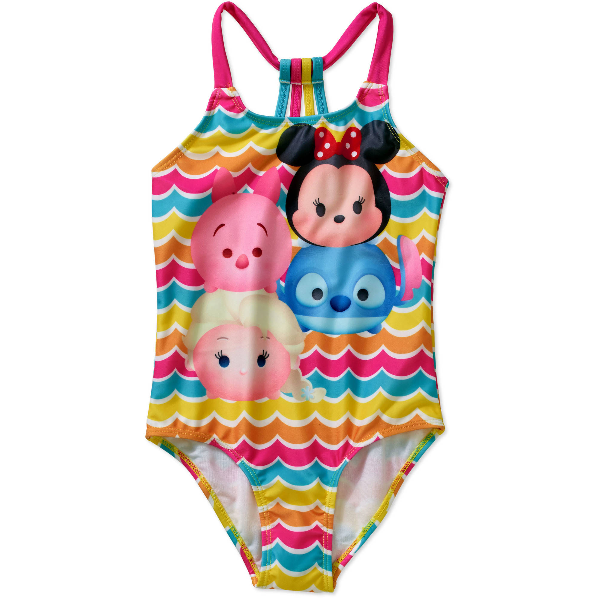 Tsum Tsum Girls' One Piece Swimsuit