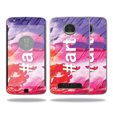 Skin For Motorola Moto Z Play Case   Art   Mightyskins Protective  Durable  And Unique Vinyl Decal Wrap Cover   Easy To Apply  Remove  And Change Styles   Made In The Usa