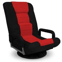 SKONYON Gaming Floor Chair with Armrest Handles
