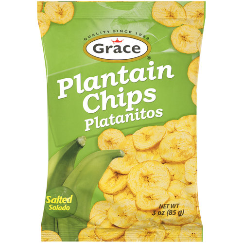 Grace Plantain Chips, Salted