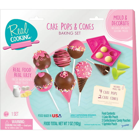 Real Cooking Chocolately Cake Pops Con