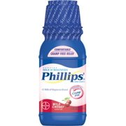 6 Pack - Phillips' Milk of Magnesia Wild Cherry 12 oz