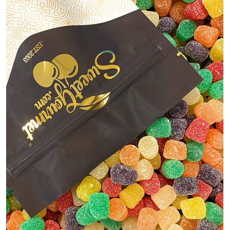 Spice Drops Candy | old fashioned gumdrops jelly candy | 2.5 pounds bag 2.5Lb ()