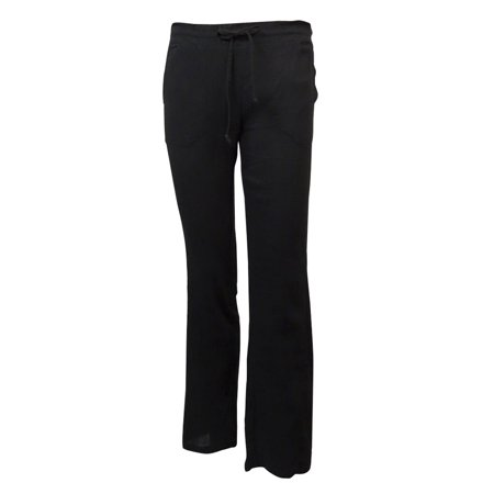 Crinkle Cotton Cover (Miken Women's Crinkled Cotton Pocket Swim Cover Pants)