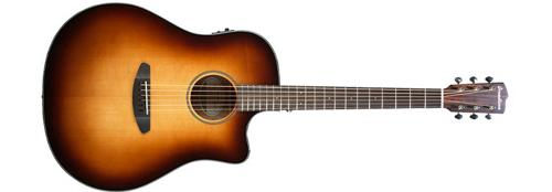 Breedlove Discovery Dreadnought CE Acoustic-Electric Guitar (Sunburst) by