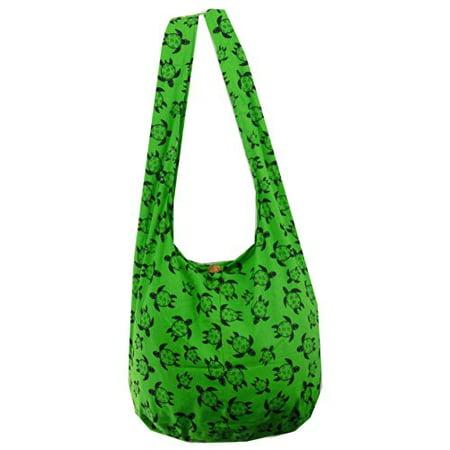 a521c27e350a NaLuck - Green Turtle Hippie Boho Hobo Vintage Sling Cross body Shoulder  Messenger Bag IPTL06 - Walmart.com