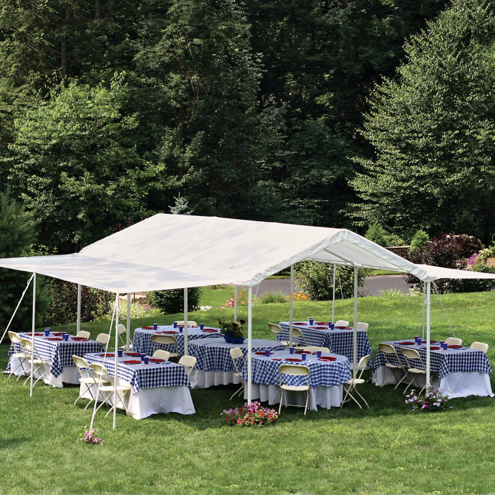 Max AP 10' x 20' 2-in-1 Canopy with Extension Kit by ShelterLogic