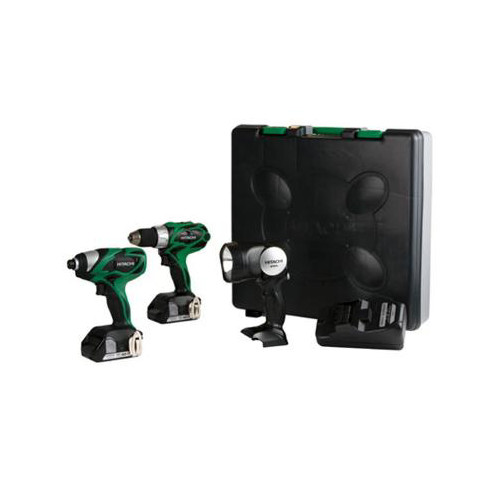 Hitachi 18-Volt Lithium-Ion 3 Tool Combo Kit by Hitachi