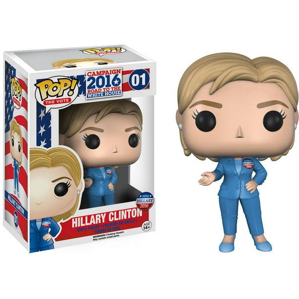 Funko Pop! The Vote Hillary Clinton Figure - Walmart.com - Walmart.com