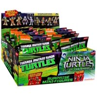 Teenage Mutant Ninja Turtles Series 1 Mini Figure Mystery Box [24 Packs]