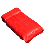 """Swimline 72"""" SunSoft Inflatable 1-Person Swimming Pool 225 Mattress Lounger Float - Red"""