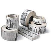 Intermec E01384 DuraTHERM II E01384 Thermal Label - Permanent Adhesive - 3.15 (W) x 5  (L) inches - 1170 per roll - Rectangle - 3/inch Core - Direct Thermal - White - Paper - 4 rolls/Case