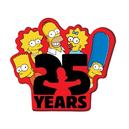 Magnet - The Simpsons - The 25 Years Soft PVC Licensed New Toys 27846