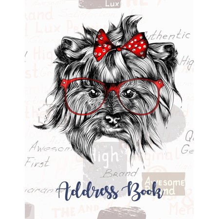 Address Book: Keep All Your Address Information Together. Alphabetized Organizer Journal Notebook (Contact, Address, Phone Number, Emails, Birthday) 300+ Spaces (Shih Tzu) (Paperback)
