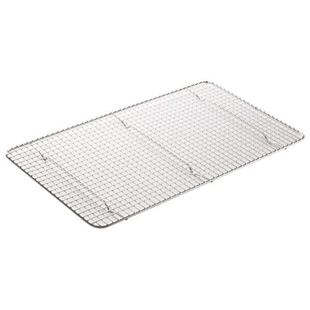 Wire Pan Grate - Winco PGWS-1018, 18x10-Inch Pan Grate for Full-Size Steam Pan, Stainless Steel