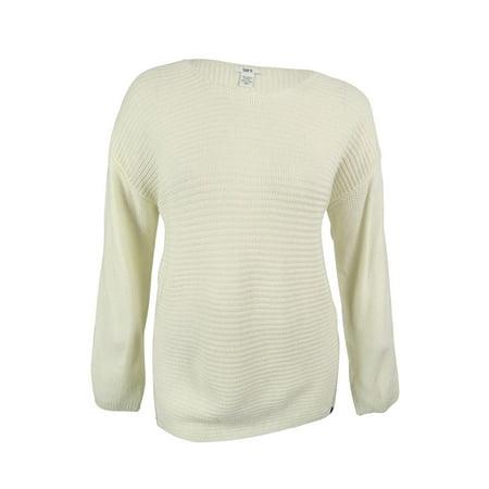 Bar III Women's Wool-Blend High-Low Zipper Sweater