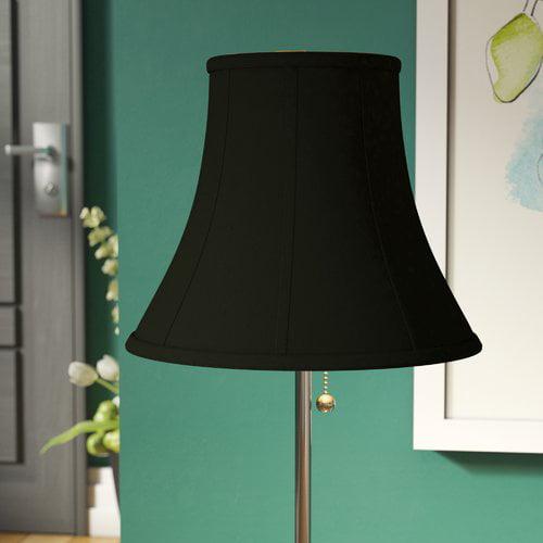 Alcott Hill 8'' Silk Bell Lamp Shade